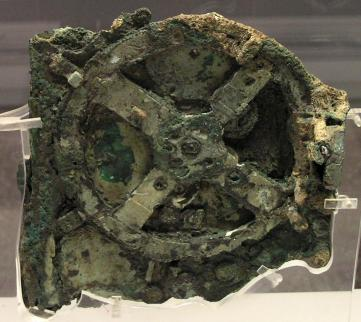 Greek Antikythera Mechanism image