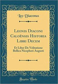 Photo of historical book written by Leo Diaconus