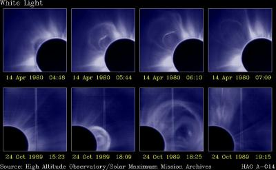 14 April 1980 and 24 Oct 1989: White Light images