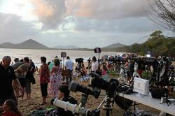 Eclipse Viewing Palm Cove, Queensland