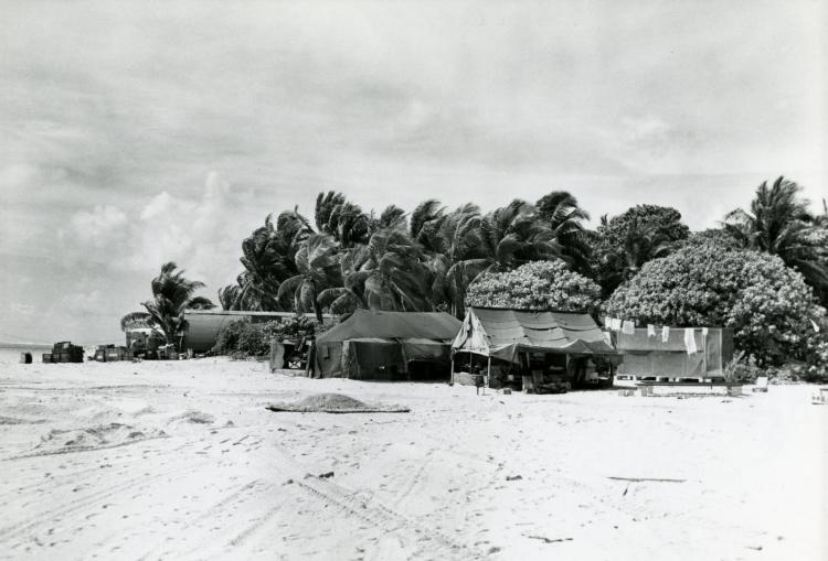Eclipse expedition to Pukapuka, Northern Cook Islands, 1958