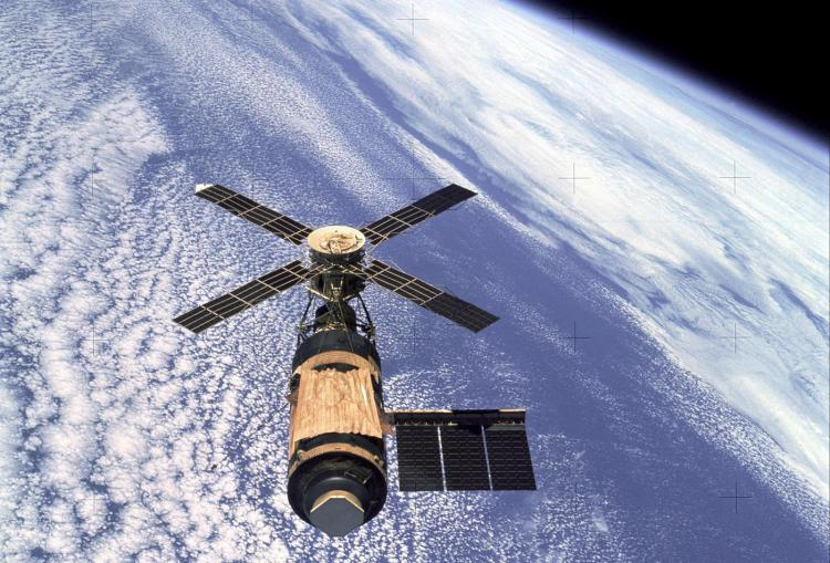 Skylab launched in 1973 with HAO coronagraph
