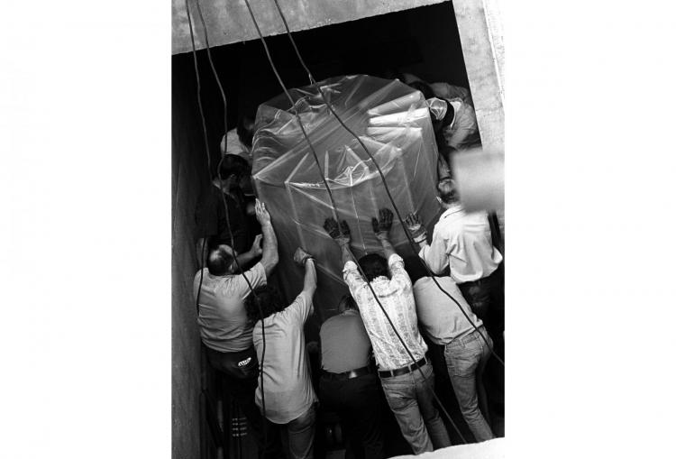 Delivery of the new CRAY-1 to NCAR in 1977