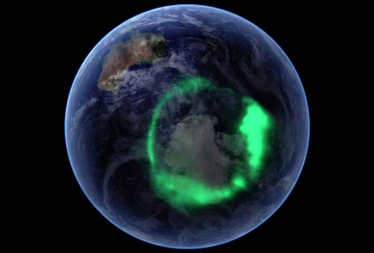 The Earth's Aurora Australius